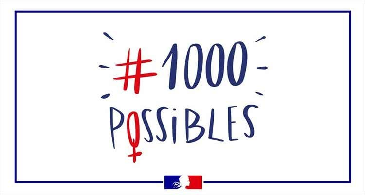 La Normandie distinguée dans le cadre de la campagne #1000Possibles du Ministère chargé de l'égalité entre les femmes et les hommes, de la diversité et de l'égalité des chances