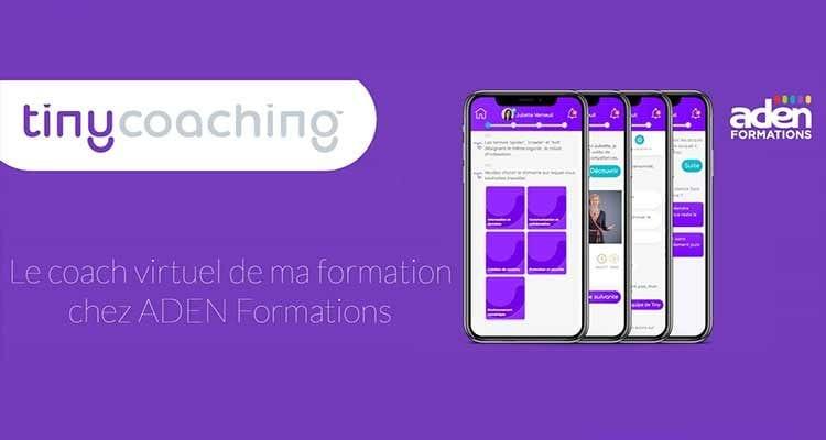 ADEN Formations et Tinycoaching : des partenaires innovants, une pédagogie créative et ré-créative !