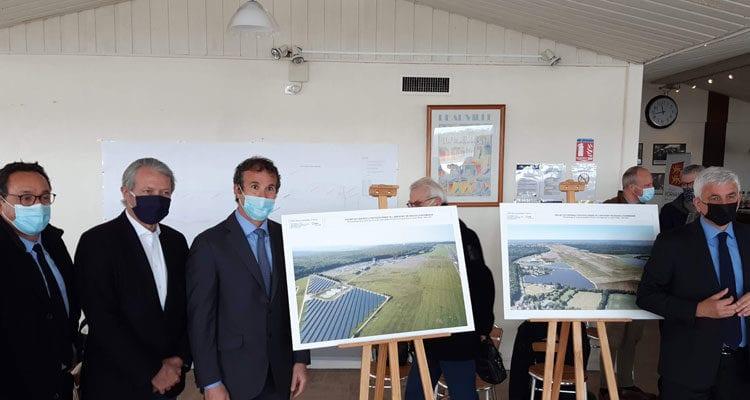 Lancement du projet de centrale photovoltaïque sur l'aéroport de Deauville-Normandie
