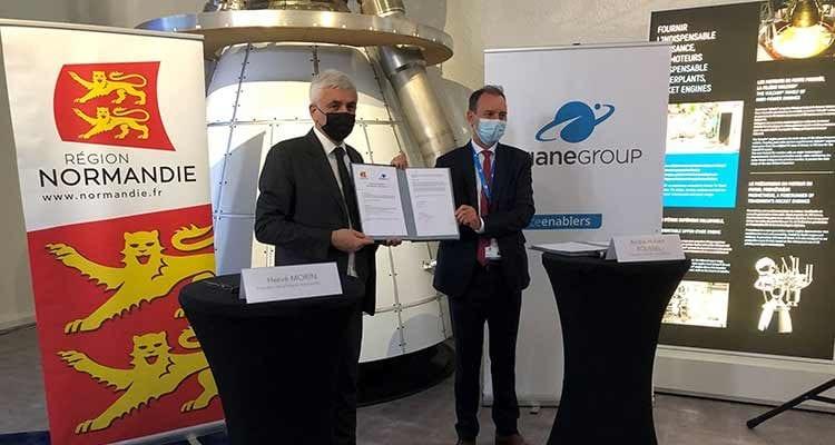 ArianeGroup et la Région Normandie signent un partenariat innovant sur l'hydrogène