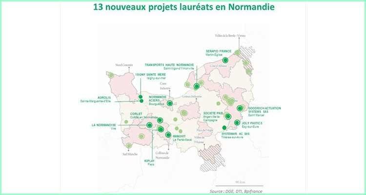13 nouveaux lauréats normands du Fonds d'accélération des investissements industriels dans les territoires