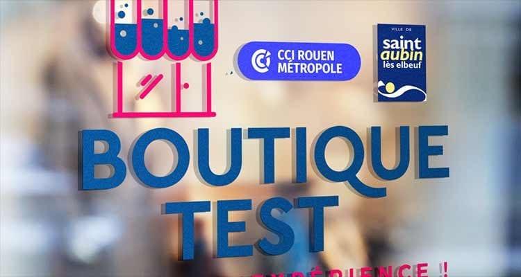 La CCI Rouen Métropole et la Ville de Saint-Aubin-lès-Elbeuf lancent « la boutique test », un concept pour tester son activité commerciale