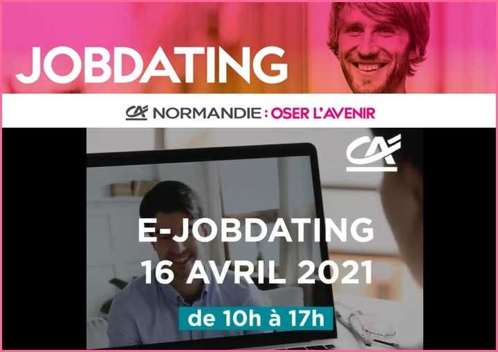 Une journée ejobdating au Crédit Agricole Normandie