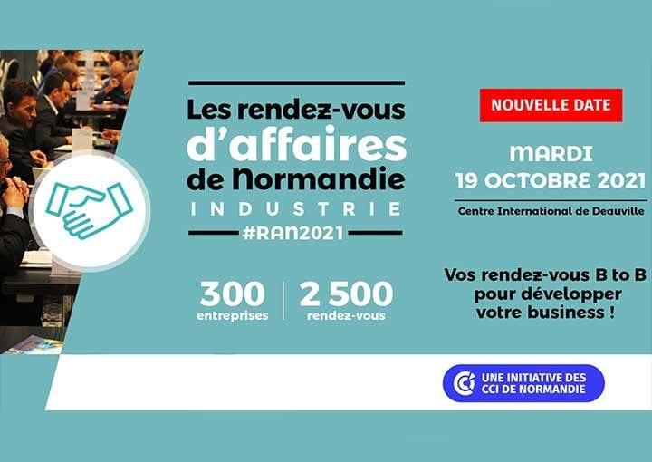 Rendez-vous d'Affaires de Normandie: nouvelle date!