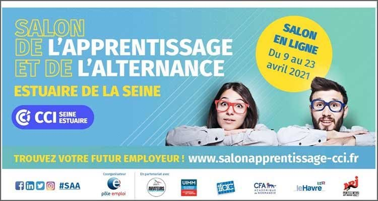 Le traditionnel salon de l'apprentissage et de l'alternance de la CCI Seine Estuaire sera 100% virtuel
