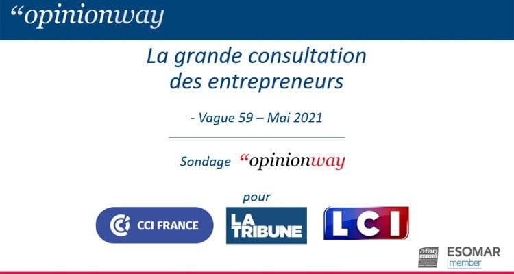 La grande consultation des entrepreneurs : Vague 59 – Mai 2021