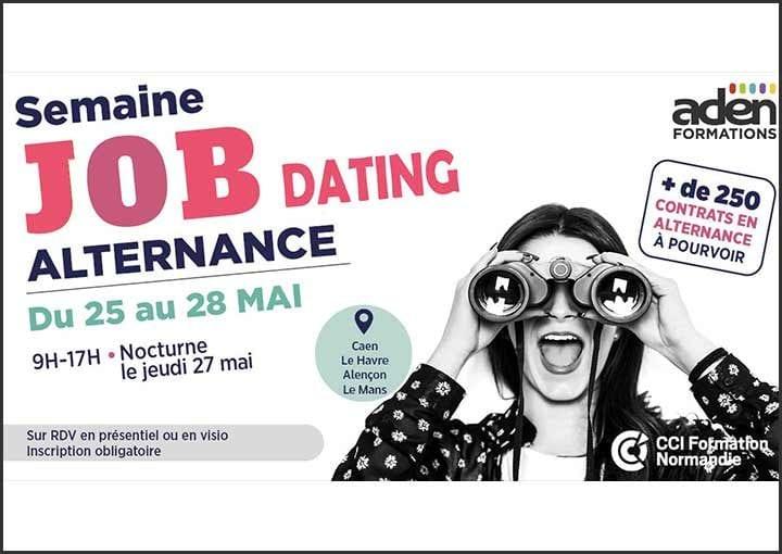 Semaine Job dating alternance du 25 au 28 mai 2021