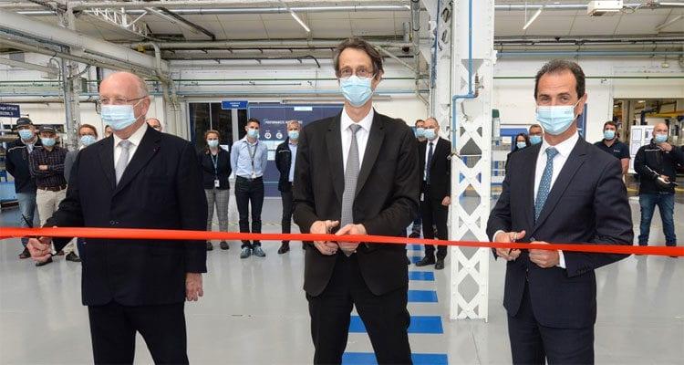 Safran inaugure une nouvelle ligne de production sur le site de Gonfreville-l'Orcher