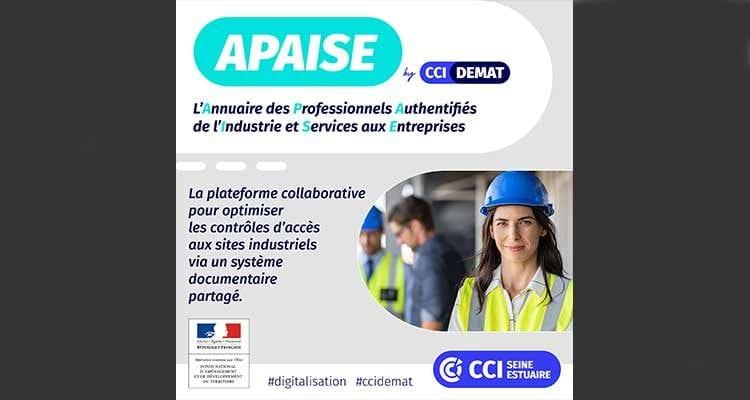 La CCI Seine Estuaire lance les webinaires sur APAISE, la plateforme collaborative pour l'industrie