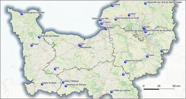 France Relance : 13 M€ pour le recyclage des friches en Normandie