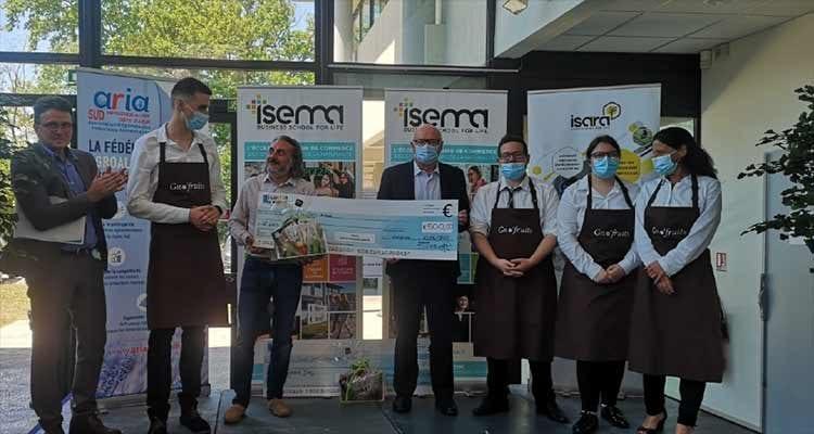 FIM : les étudiants remportent la 2ème place du Grand Jury des Nouveaux Produits