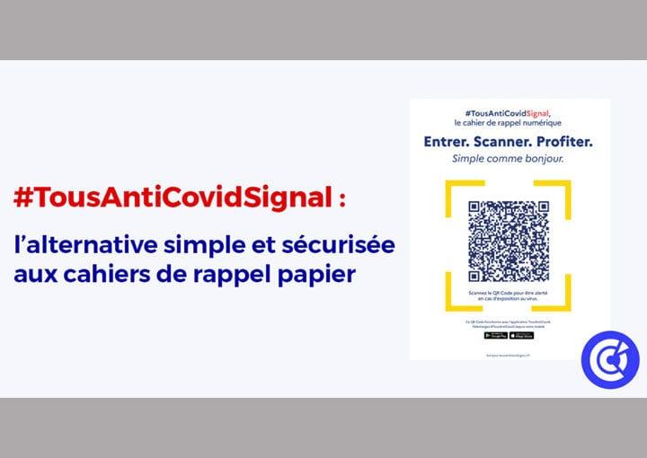 TousAntiCovid Signal : le cahier de rappel numérique
