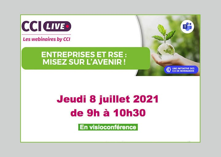 Webinaire RSE proposé par les CCI de Normandie