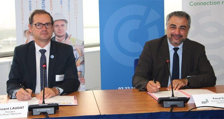 Rouen: le port rejoint l'Ecosystem Cléon 4.0 de la CCI Rouen Métropole