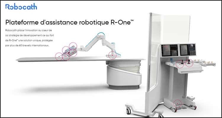 Un programme de recherche en co-développement pour le traitement des AVC entre Robocath et le CHU de Rennes