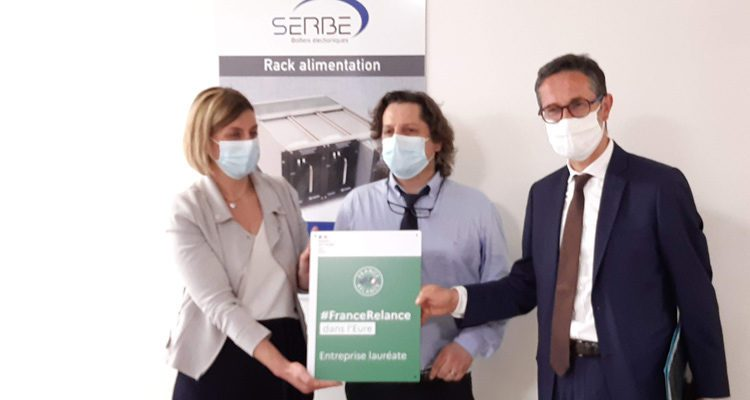 L'entreprise SERBE, dans l'Eure, lauréate du plan France Relance