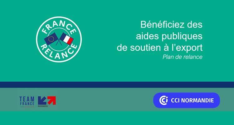 Prolongation et adaptation des mesures du volet export de France Relance