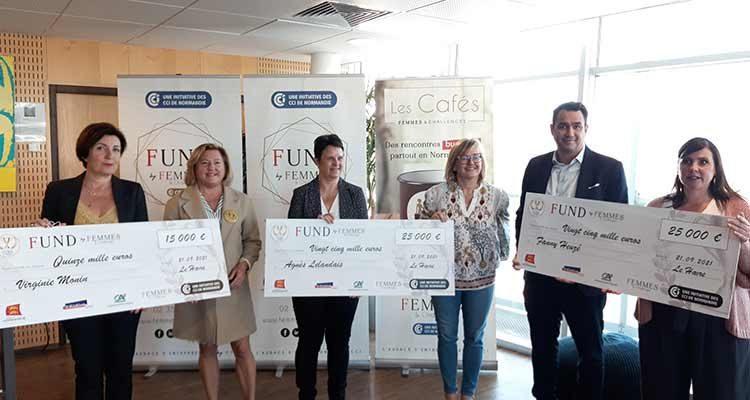 Trois nouvelles lauréates pour le FUND Femmes & Challenges
