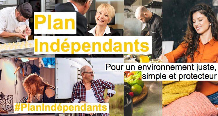 Un plan de soutien aux travailleurs indépendants