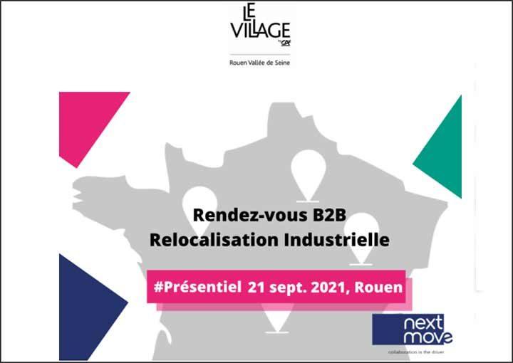 Relocalisation industrielle : rendez-vous B2B !