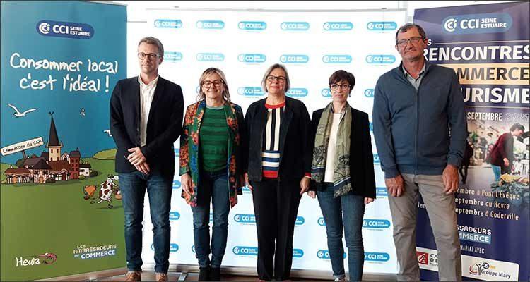 Commerce : la CCI Seine Estuaire organise ses rencontres du commerce