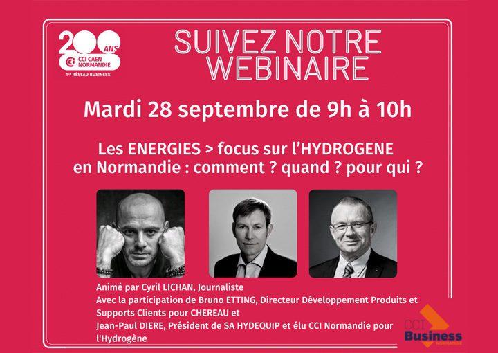 L'hydrogène en Normandie : comment ? quand ? pour qui ?