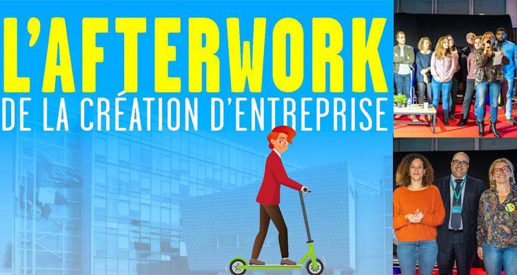 Afterwork de la création d'entreprise : une 1ère édition réussie !
