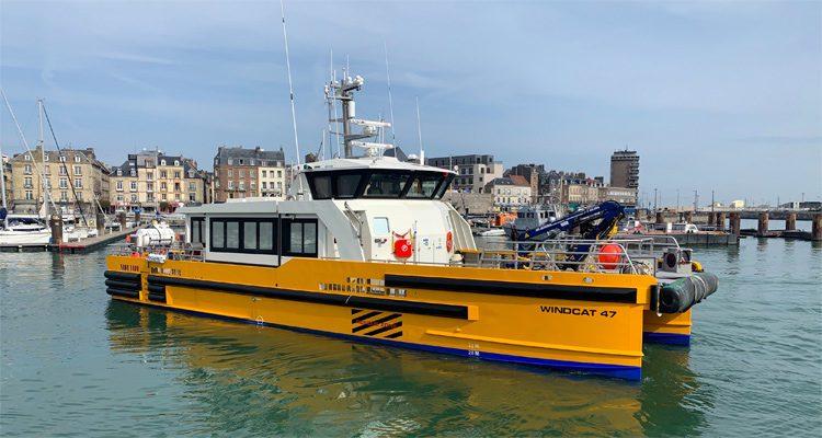 Une entreprise normande choisie pour le futur transport maritime des personnels du parc éolien en mer de Fécamp
