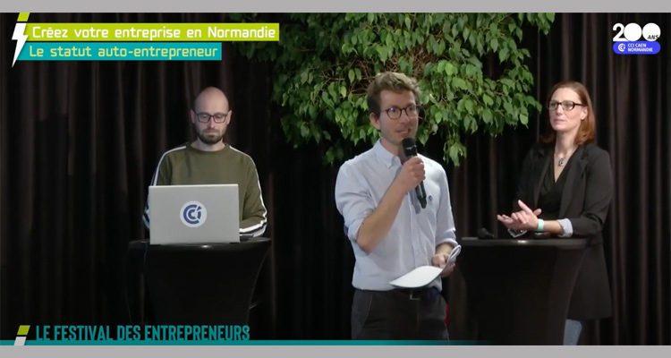 Avec le festival « Demain, c'est ici », la CCI Caen Normandie met l'accent sur la création d'entreprise