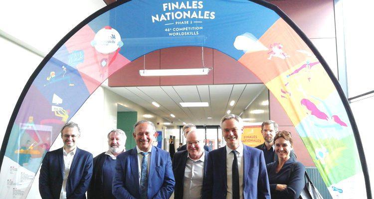 Bâtiment CFA Rouen Espace Lanfry :finales nationales et convention WorldSkills